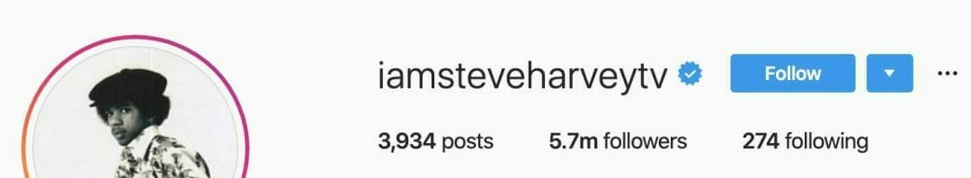 Steve Harvey Instagram